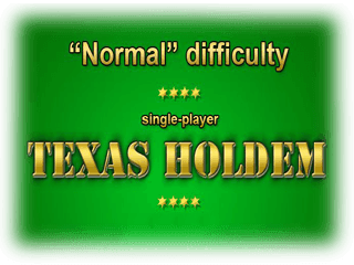 Texas Holdem normal