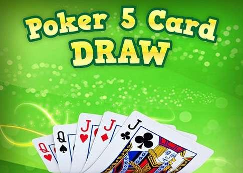 Five Card Draw Poker Regeln
